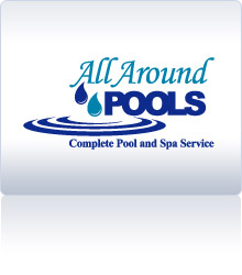 Pool Logo Design logo design bliss water Client All Around Pools